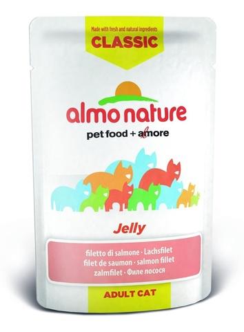 Паучи Almo Nature Classic Nature Jelly - Salmon
