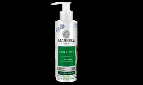 Markell Skin&City Гель-крем для умывания Снежный гриб 200мл