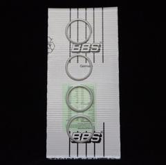 Комплект колец центрирующих BBS для Mini, 4 шт