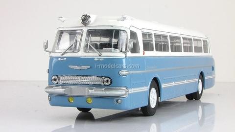 Ikarus-55 white-blue Classicbus 1:43