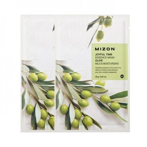 MIZON  Маска с экстрактом оливы   joyful time essence mask olive 23 g
