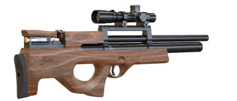 Пневматическая винтовка Ataman M2R Булл-пап SL 5,5 мм (Дерево)(магазин в комплекте)(415/RB-SL)