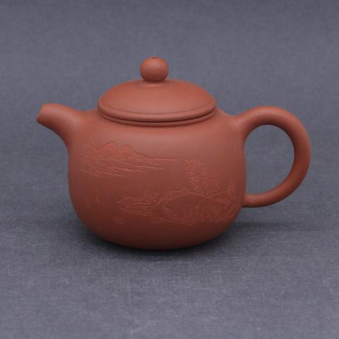 Чайник из исинской глины, 180мл, 131092