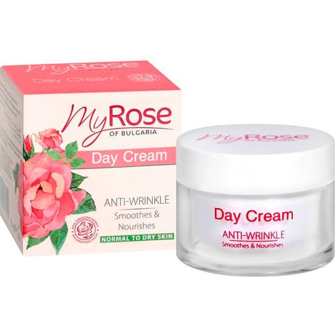 Крем для лица дневной против морщин Anti-Wrinkle Day Cream My Rose OF BULGARIA