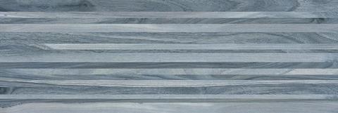 Плитка настенная Zen полоски синий 200х600 60032