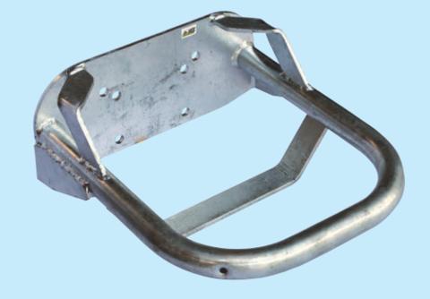 Одинарная | Защита металлическая для одинарной поилки