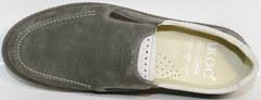 Туфли casual мужские IKOC 3394-3 Gray.