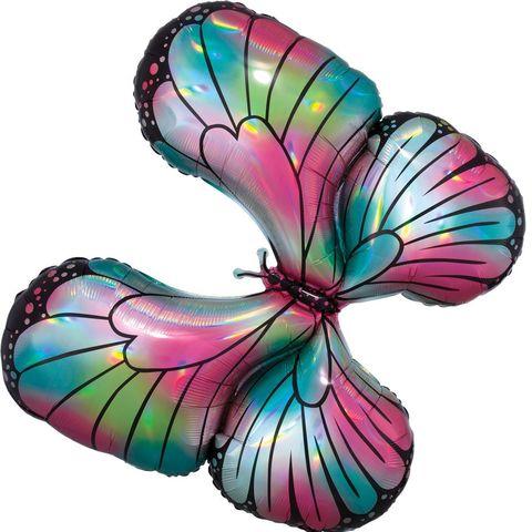 Фигура Бабочка переливы перламутровая, 76х66 см