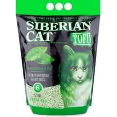 Наполнитель для кошачьего туалета, Сибирская Кошка, Тофу Зеленый чай