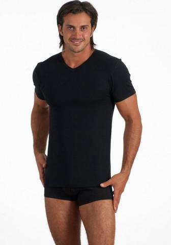 Мужская футболка из хлопка с модалом