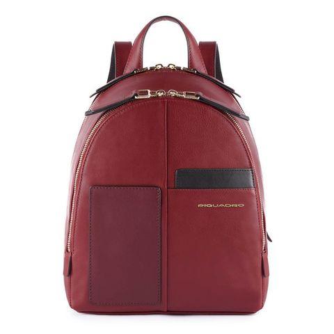 Рюкзак женский Piquadro Echo CA4327W100/BO бордовый натур.кожа