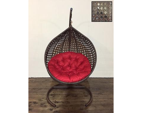 Подвесное кресло Арриба Кантри коричневая