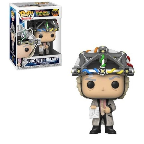 Doc with Helmet Funko Pop! || Док Эммет Браун в шлеме (Back to the Future)