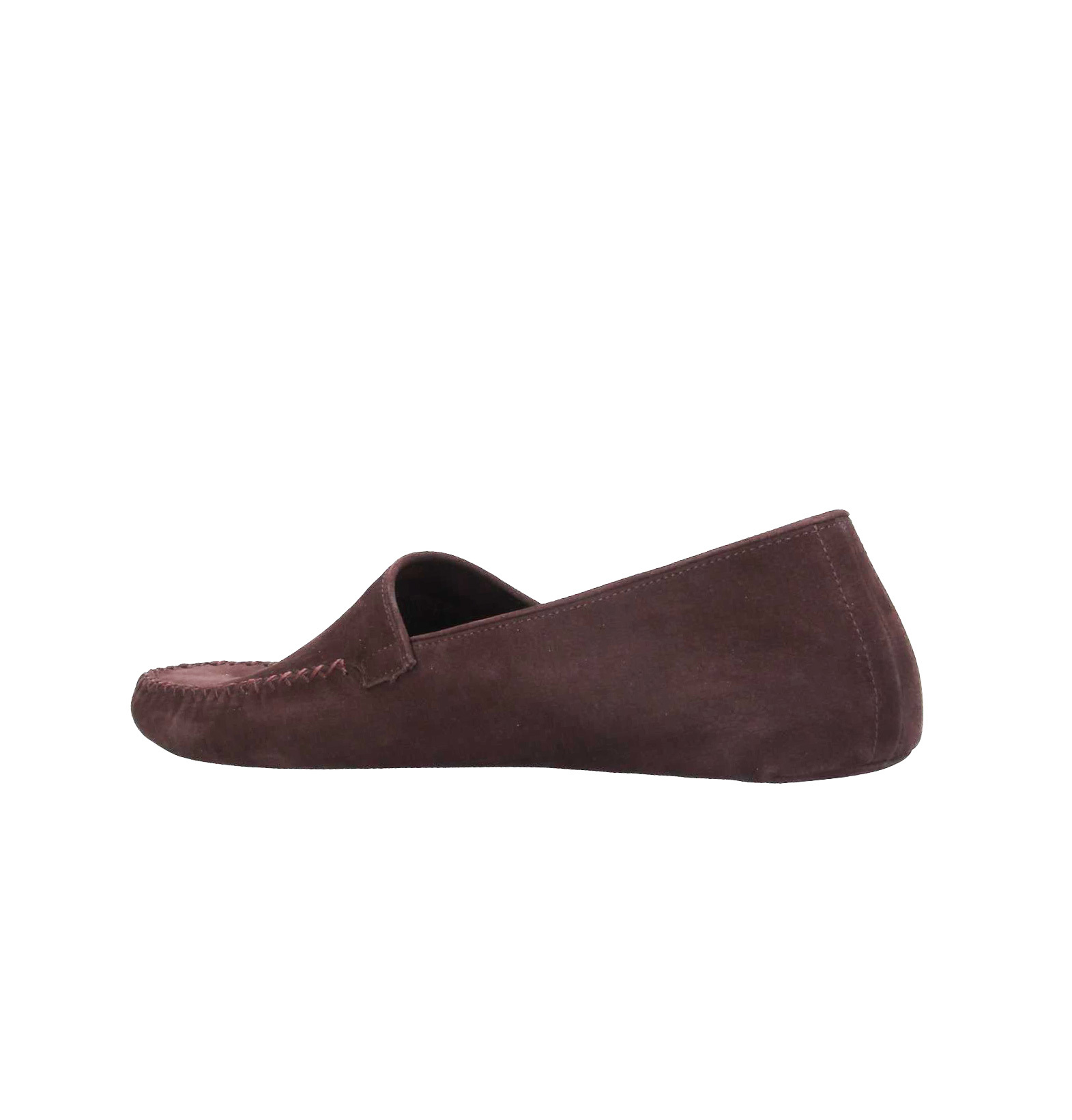 Тёмно-коричневые кожаные мягчайшие домашние мокасины-тапочки Luciano Padovan Made in Italy