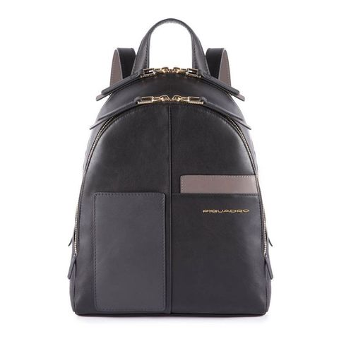Рюкзак женский Piquadro Echo CA4327W100/N черный натур.кожа