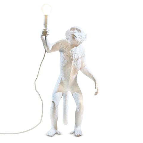 Напольный светильник копия Monkey by Seletti (белый)