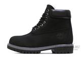 Ботинки Timberland 17061 Waterproof Black Женские С Мехом