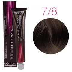 L'Oreal Professionnel Dia Richesse 7.8 (Блондин мокка) - Краска для волос