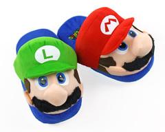 Марио и Луиджи тапочки домашние