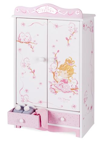 DECUEVAS Гардеробный шкаф для куклы серии Мария