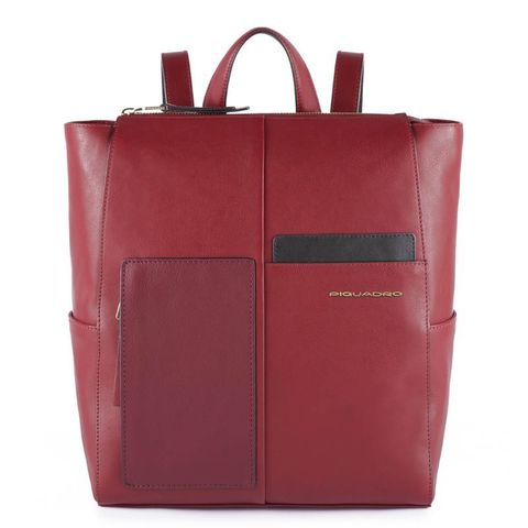 Рюкзак женский Piquadro Echo CA4847W100/BO бордовый натур.кожа