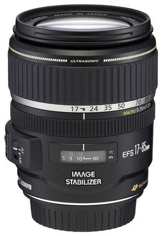 Canon EF-S 17-85mm f/4-5.6 IS USM (TAIWAN)