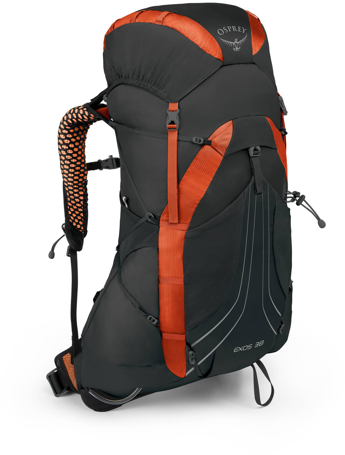 Туристические рюкзаки Рюкзак Osprey Exos 38 Blaze Black L Exos38_S18_Side_BlazeBlack_web.jpg