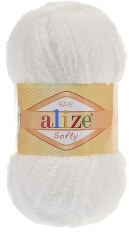 Пряжа Alize SOFTY 450 св.молочный