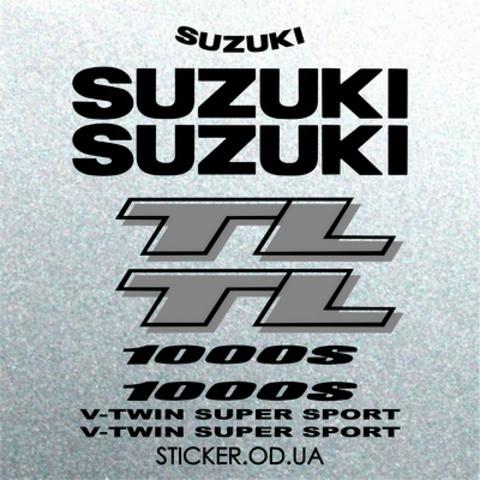 Набор виниловых наклеек на мотоцикл Suzuki TL 1000S 1999