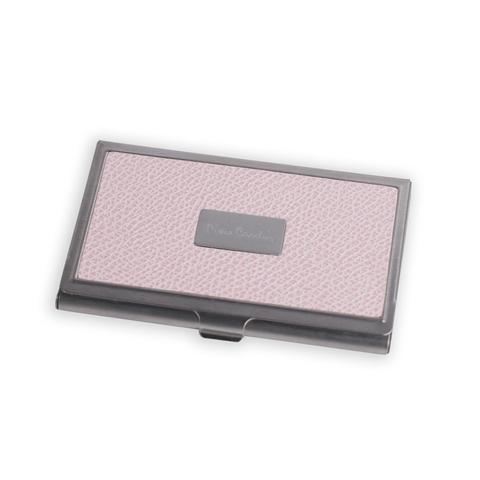 Визитница Pierre Cardin  (PC1139pink) розовая искуств.кожа + металл