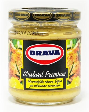 Горчица дижонская с зернами премиум Brava 200 г