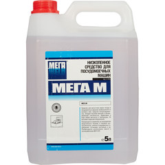 Средство для мытья посуды в посудомоечной машине Мега М 5 л (концентрат)