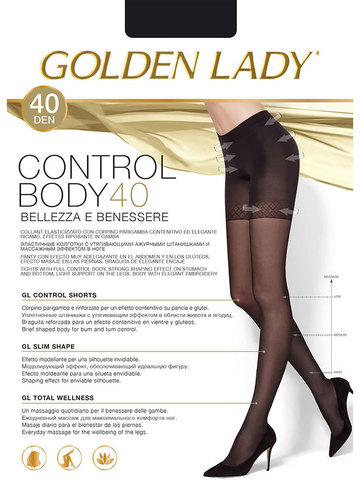 Колготки Control Body 40 Golden Lady