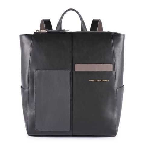 Рюкзак женский Piquadro Echo CA4847W100/N черный натур.кожа