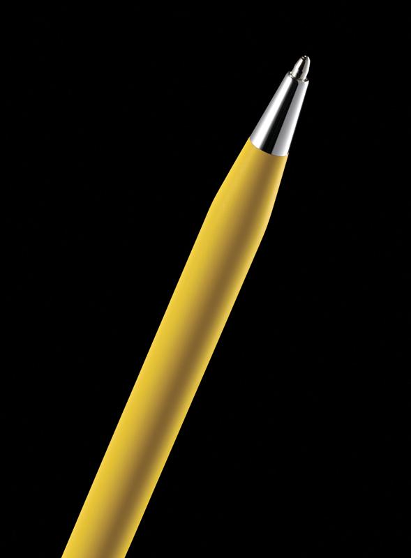 Cross Classic Century - Ferrari Matte Modena Yellow Lacquer/Chrome, шариковая ручка