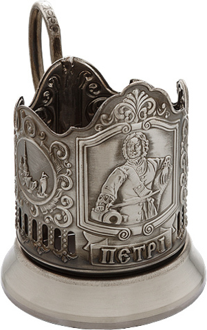 "Подстаканник ""Царь Пётр I"" (2)"