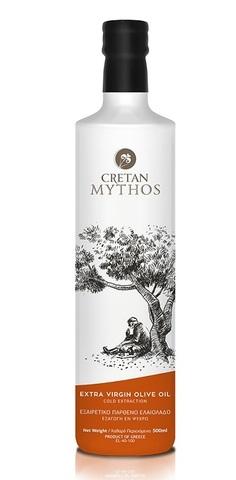 Оливковое масло Cretan Mythos Extra Virgin с острова Крит 500 мл