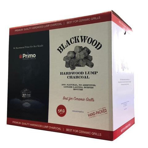 Натуральный крупнокусковой уголь Primo Premium, коробка 5 кг