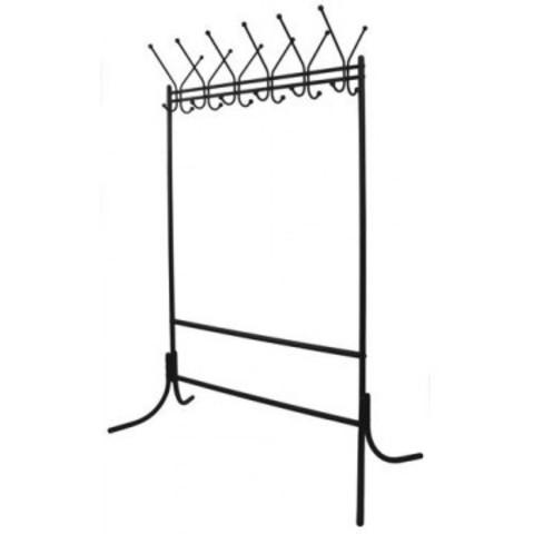 Вешалка гардеробная КР-11 на 12 персон (черная)