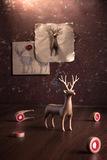 Набор магнитов на холодильник My deer 6 шт. Олень Qualy QL10175-BN | Купить в Москве, СПб и с доставкой по всей России | Интернет магазин www.Kitchen-Devices.ru