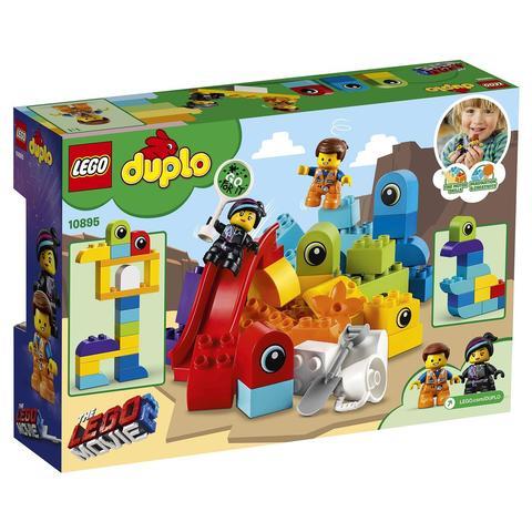 LEGO Duplo: Пришельцы с планеты DUPLO 10895 — Emmet and Lucy's Visitors from the DUPLO Planet — Лего Дупло