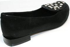 Балетки из натуральной кожи Kluchini 5212 k 364 Black.