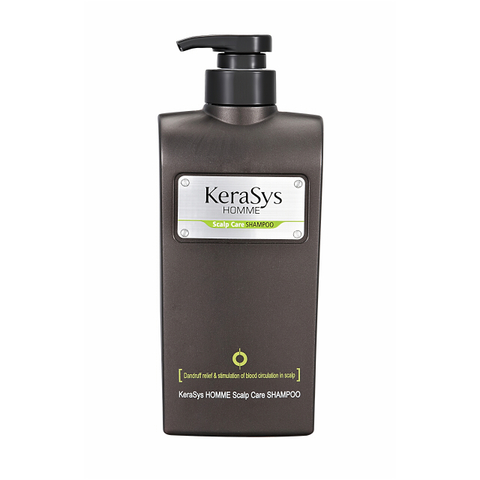 Шампунь мужской для лечения кожи головы Aekyung Kerasys Homme Scalp Care 550 мл