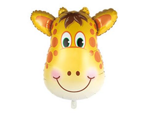 Фольгированный шар Жираф голова