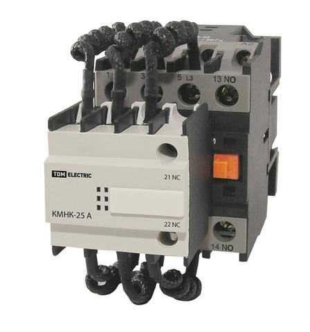 Контактор КМНК-40-230.Б 40кВАр 2НО;1НЗ TDM