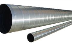 Труба спирально-навитая d 125 (3 м) оцинкованная сталь