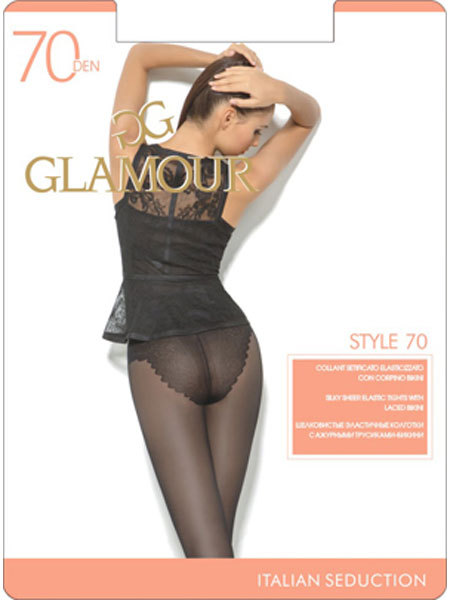Колготки Glamour Style 70