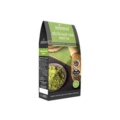 Polezzno Зеленый чай матча 50 г