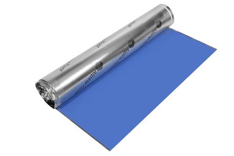 Подложка ALPINE FLOOR SILVER FOIL BLUE EVA 15000*1000*1,5 мм (в рулоне 15 м2)