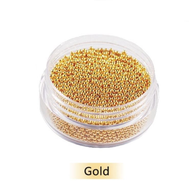Бульонки металл золото (0,6 мм)  10гр